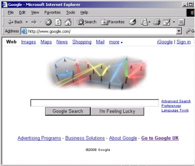 Google Laser Graphic