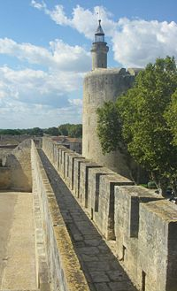 Aigues Mortes ramparts