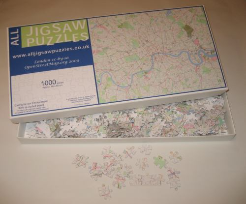 OpenStreetMap Jigsaw 1