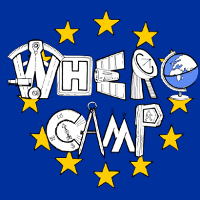 WhereCamp.EU Logo by Sophie Green