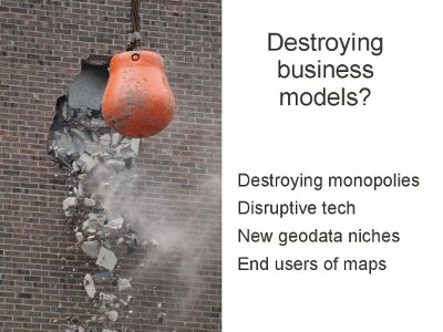 destroying business models